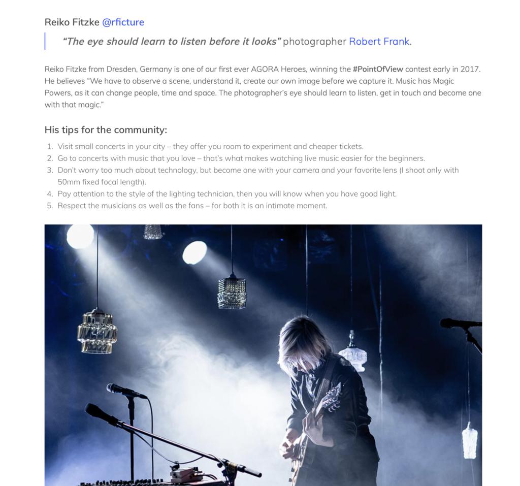 Agora Images Reiko Fitzke rficture concert photography